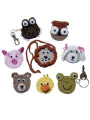 Animal Coin Purses Crochet Pattern