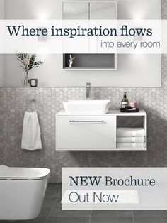 Grab your copy of our new bathroom brochure and immerse yourself in our latest range. It's packed with products to inspire and excite. Attic Shower, Attic Bathroom, Small Bathroom, Bathroom Inspiration, Home Decor Inspiration, Bathroom Inspo, Bathroom Designs, Bathroom Ideas, Downstairs Cloakroom