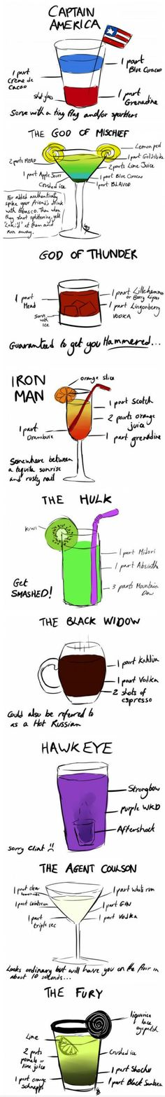 Avengers Cocktail.