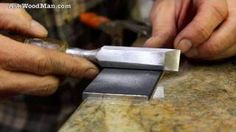how to sharp chisels - YouTube