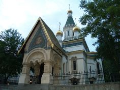 The Russian church in Sofia/ Bulgaria