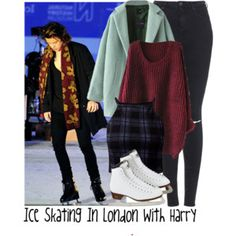 Ice Skating In London With Harry