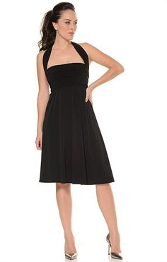 Great black bridesmaid dress they WILL wear again