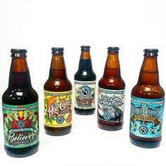 The gangs all here and you don't want to mess with this crew from @ninkasibrewing. From an #ipa to a #stout they have you covered! #beernerd #beergeek #beerporn #craftbeernerd #craftbeerporn #craftbeergeek #instabeer #instabeerofficial #craftbeernotcrapbeer #ipaporn #stoutporn