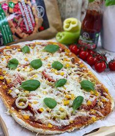 Vékony élesztős pizza 1nagy Ketchup, Vegetable Pizza, Paleo, Vegetables, Food, Essen, Beach Wrap, Vegetable Recipes, Meals