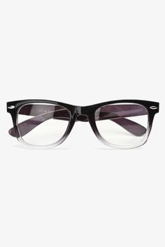 gradient frame medium clear wayfarer glasses black 1221 4