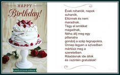 _ Happy Brithday, Love Me Quotes, Hungary, My Love, Birthday, Cake, Desserts, Tailgate Desserts, Happy Birthday