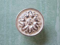 Knob Shabby Chic Dresser Knobs Cabinet Knobs Drawer Knobs Pulls Handles Cream White Silver Decorative Knob Pull Handle Hardware 189