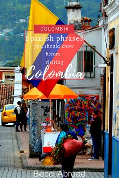 5 useful Spanish phrases you should know before visiting Colombia - Becci Abroad Colombia Map, Visit Colombia, Colombia Travel, Colombian Spanish, Useful Spanish Phrases, Nice Meeting You, Plan My Trip, Spanish Teacher, Gap Year