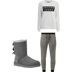 jogger by orianne223 on Polyvore featuring polyvore fashion style Zoe Karssen UGG Australia