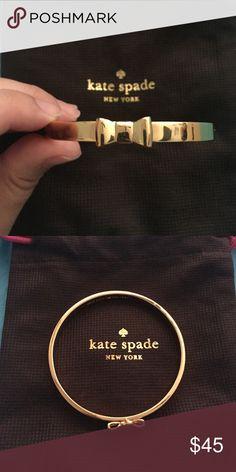 Kate Spade Bangle NWOT Kate Spade bow bangle kate spade Jewelry Bracelets