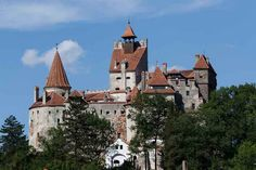 The famous Bran Castle near Brasov is Transylvania's top tourist attraction. Image by glen Pearson / Lonely Planet.