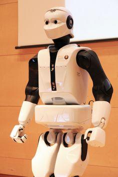 #REEM C de PAL Robotics presentado en Cosmocaixa #robots #robotica #Tecnonauta