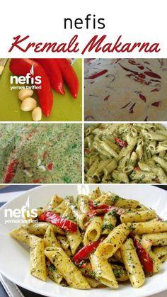 Turkish Recipes, Italian Recipes, Ethnic Recipes, Cream Pasta, Good Food, Yummy Food, Most Delicious Recipe, Food Design, Pasta Recipes
