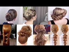 peinados sencillos faciles para cabello largo bonitos y rapidos con trenzas para niña mariposa#30 - YouTube