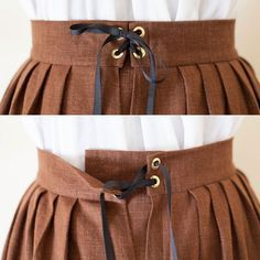 Renaissance Skirt Peasant Skirt Pirate Wench by SilverLiningSewing