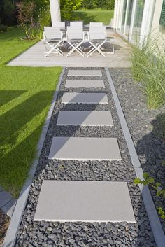 08 Walkways Front Yard Landscaping Ideas on a Budget - modern front yard landscaping ideas