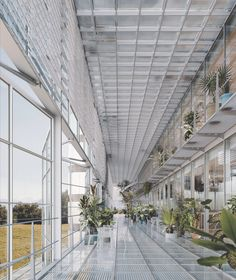 Atlas of Places Lausanne, Bruther Architecture, Brazil Houses, Paris Saclay, Glass Brick, Glass Roof, Learning Spaces, Interior Exterior, Interior Design