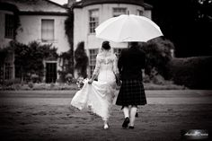 Rain never stops play ! Wedding Photography North East and Yorkshire by Andrew Davies www.andrew-davies.com