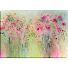 Buy Sue Fenlon - Confetti Petals Print on Canvas, 70 x 100cm online at JohnLewis.com - John Lewis