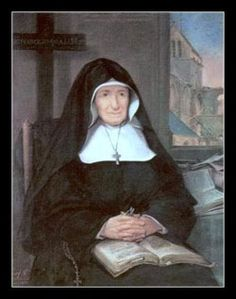St. Mary Magdalen Postel, Roman Catholic Nun. When the French Revolution broke out, the revolutionaries closed the school and she became a leader in Barfleur against the constitutional priests and sheltered fugitive priests in her home, where Mass was celebrated