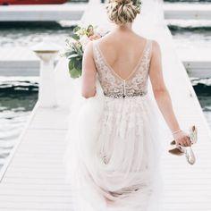 "738be6de7f930 BHLDN Weddings on Instagram  ""Dreamy back detail 😍 (rg    hannahperssonphoto"