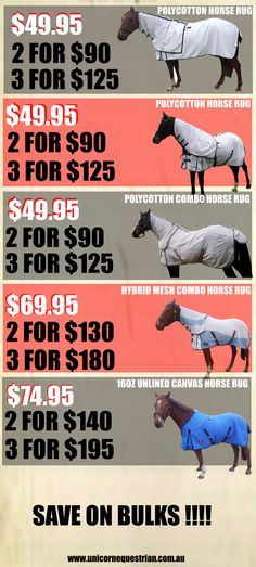 Horse Summer Show Sheets In Australia From Unicorn Equestrian