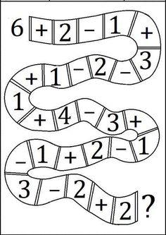 """Képtalálat a következőre: """"addition and subtraction worksheets"""" Addition And Subtraction Worksheets, Math Addition, Kindergarten Worksheets, Math Activities, Second Grade Math, Math Facts, Math For Kids, Teaching Math, Maths"""