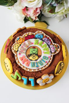 Icing cookie cake