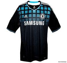 Chelsea bortatröja 2011 - 2012   fotbollströjor - Boris Herbertsson