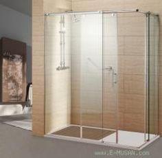 Mampara para ducha recta corredera.- Ebanistería Musan S.L.