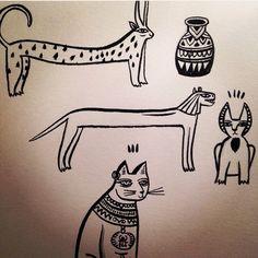 Epypcian cats