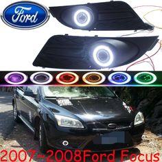 Car-styling,CAR fog lamp,2007~2008,chrome,Free ship!2pcs,FOCU head light,car-covers,Halogen/HID+Ballast;FOCU