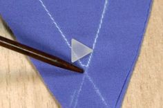 There are all sorts of corners: 90-degree, 45-degree, and less—or more. Watch this video to achieve well-sewn outside corners, such as collar points.