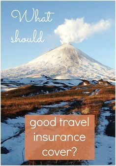 What should travel insurance cover? With airline cancellations and failures affecting travellers, software meltdowns at airports, terrorism and conflict, not to mention plain old lost bags, I've been finding out what the experts recommend when it comes to