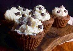 Food Fitness by Paige: Cream Cheese Frosted Chocolate Chunk Cupcakes