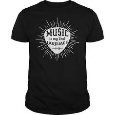 Music Second Language - Hot Trend T-shirts