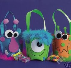 Image detail for -Platypus Crafts - Foam Monster Treat Cup Craft Kit