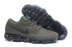 Nike Air VaporMax 2018 KPU Men Olive Green Shoes