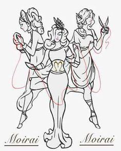 More fates gotta find an artist to take my ideas and bring them together in a cohesive sense Fate Tattoo, Mythology Tattoos, Pagan Art, Real Tattoo, Cerberus, Book Of Shadows, Greek Mythology, Tattoo Inspiration, Body Art