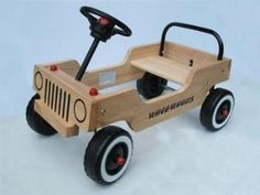 Whee-Wheels Toddler Riding Toy, Wood Kit… - Ideas For Diy Wood Projects, Woodworking Projects, Wooden Car, Wooden Ride On Toys, Homemade Toys, Kids Wood, Wooden Crafts, Wood Toys, Diy Toys