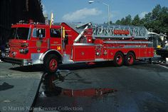 FDNY Sutphen Tower Ladder 14 by firelensman, via Flickr