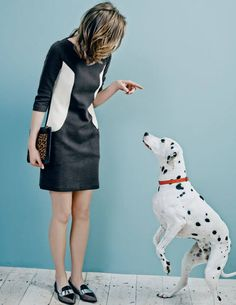 'Every orphan in the world should own a puppy' Ottoman Shift WH716 Smart Day Dresses at Boden