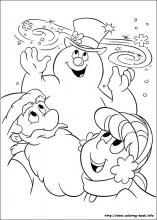 Frosty the snowman coloring pages on Coloring-Book.info | Coloring ...