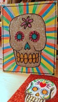 Glitter Dia de los Muertos