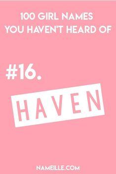 100 GIRL NAMES YOU HAVEN'T HEARD OF I Namielle.com
