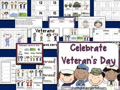 Check out these ideas to integrate Veteran's Day int BIG learning in your classroom! Get Ready for Veteran's Day with tons of fun.