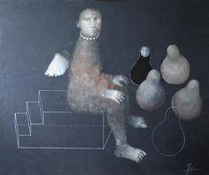 Painting by Alexey Terenin 21st Century Artists, Paper Mache Sculpture, Inspirational Artwork, Angel Art, Russian Art, Figure It Out, Figurative Art, Street Art, Illustration Art
