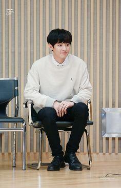 Chanyeol  He's so fluffy❤