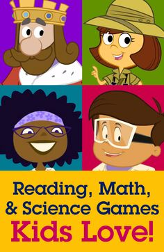 Our comprehensive program helps kids learn reading, math, science, art, and much more!